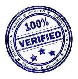 100% verified